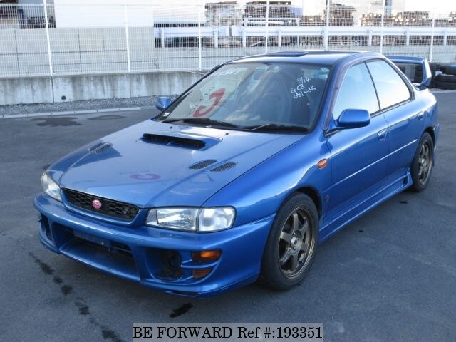 used 1999 subaru impreza wrx type ra sti ver v limited gf gc8 for sale bf193351 be forward. Black Bedroom Furniture Sets. Home Design Ideas