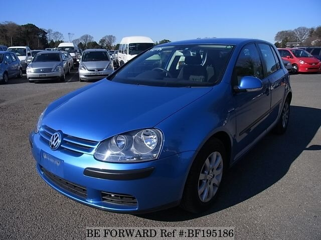 Used 2004 VOLKSWAGEN GOLF BF195186 for Sale