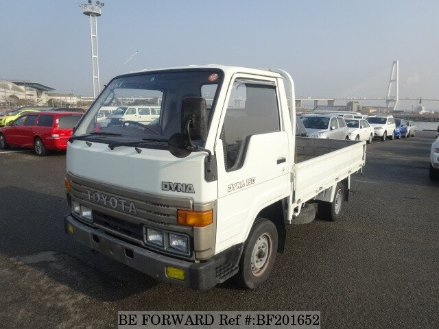 Used 1991 TOYOTA DYNA TRUCK BF201652 for Sale