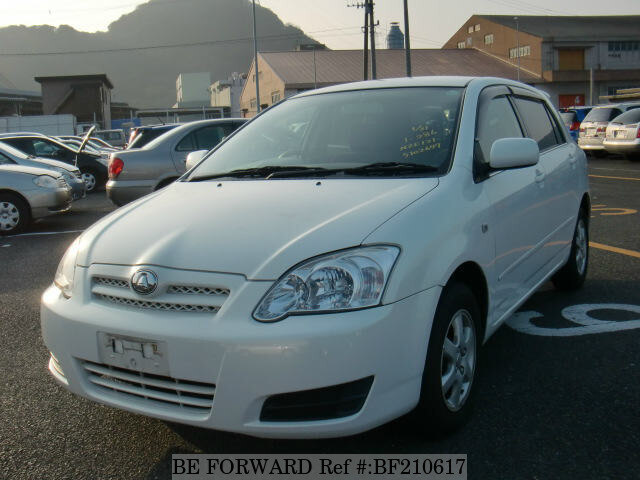 Used 2005 TOYOTA ALLEX BF210617 for Sale