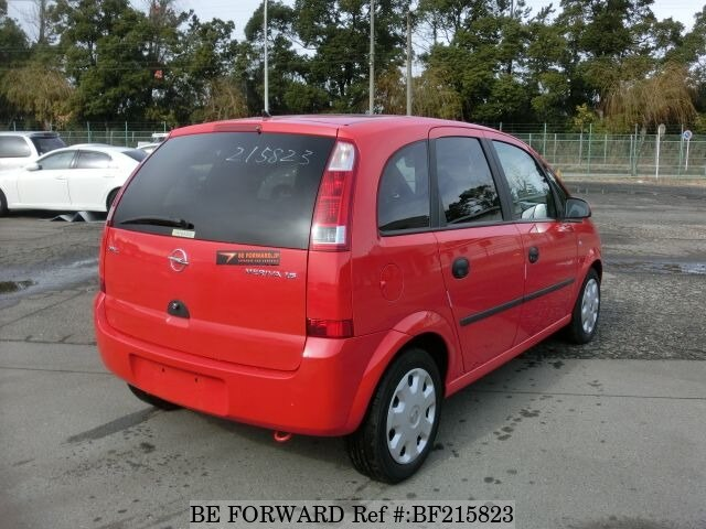 used 2005 opel meriva ta x01z16 for sale bf215823 be forward. Black Bedroom Furniture Sets. Home Design Ideas