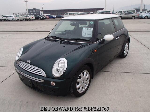 used 2003 bmw mini cooper gh ra16 for sale bf221769 be forward rh beforward jp