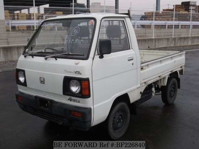 used 1986 honda acty truck m tc for sale bf226840 be forward. Black Bedroom Furniture Sets. Home Design Ideas