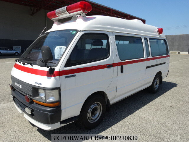 Used 1992 TOYOTA HIACE COMMUTER AMBULANCE/T-RZH132S for Sale