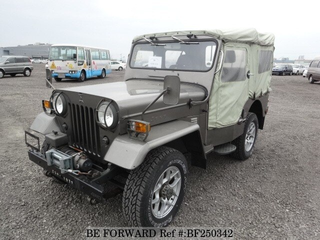 Used 1977 Mitsubishi Jeep J54 For Sale Bf250342 Be Forward