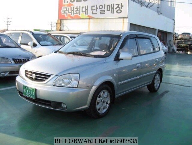 2003 kia carens d 39 occasion en promotion is02835 be forward. Black Bedroom Furniture Sets. Home Design Ideas