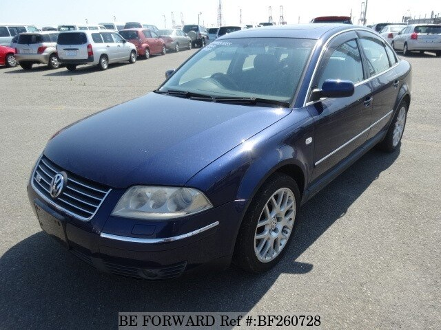 used 2003 volkswagen passat w8 four motion gh 3bbdnf for sale bf260728 be forward. Black Bedroom Furniture Sets. Home Design Ideas