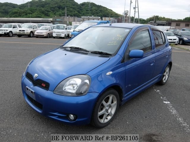 Used 2002 TOYOTA VITZ RSTANCP13 for Sale BF261105  BE FORWARD