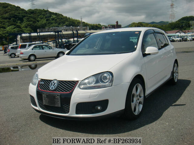 Used 2008 Volkswagen Golf Gti Gti Aba 1kaxx For Sale Bf263934 Be Forward