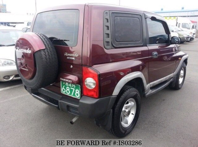 2000 ssangyong korando d 39 occasion en promotion is03286 be forward. Black Bedroom Furniture Sets. Home Design Ideas