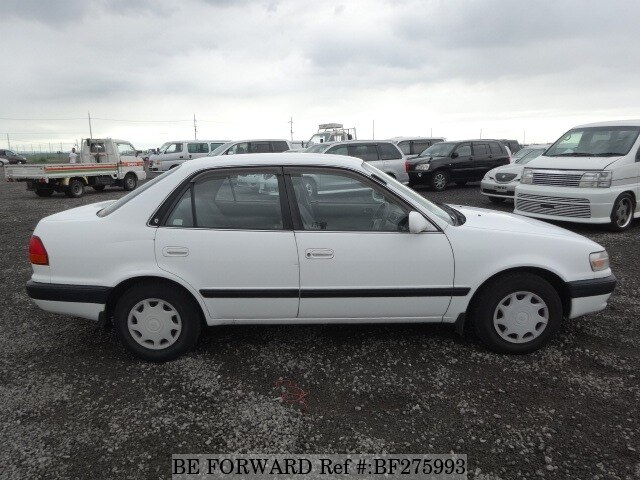 used 1996 toyota corolla sedan xe saloon kd ce110 for sale bf275993 rh beforward jp Toyota Corolla Service Diagrams 1990 Toyota Corolla Speed Sensor