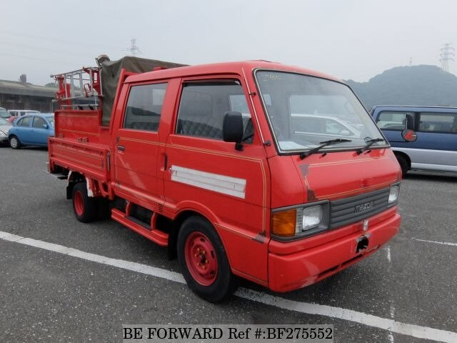 Used 1991 Mazda Bongo Brawny Truck Fire Engine Wcab  U-sd2at For Sale Bf275552
