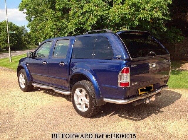 Used 2006 ISUZU RODEO Denver DOUBLE CAB/- for Sale UK00015