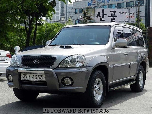 2003 hyundai terracan ex250 d 39 occasion en promotion is03398 be forward. Black Bedroom Furniture Sets. Home Design Ideas