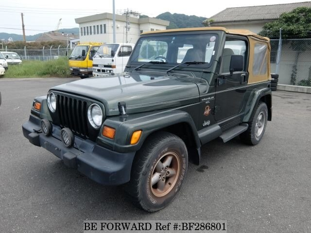 Used 1998 JEEP WRANGLER BF286801 For Sale