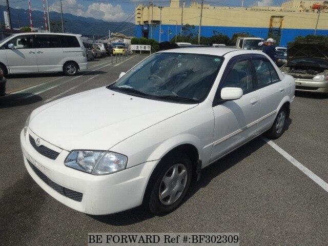 used 1999 mazda familia gf bj5p for sale bf302309 be forward rh beforward jp Mazda Familia S-Wagon Mazda 323 Familia 1994 White