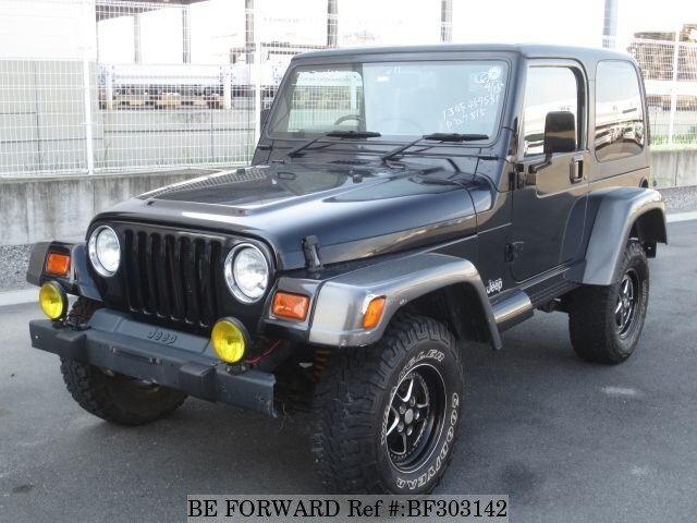 Used 2001 JEEP WRANGLER BF303142 For Sale