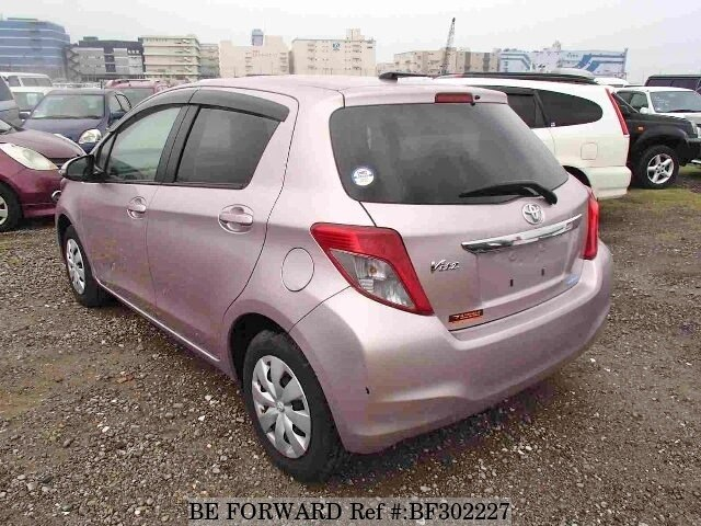 Used 2012 TOYOTA VITZ/DBA-KSP130 for Sale BF302227 - BE FORWARD