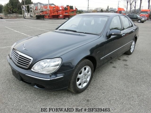 Used 2001 Mercedes Benz S Class S430 Gf 220070 For Sale Bf339463