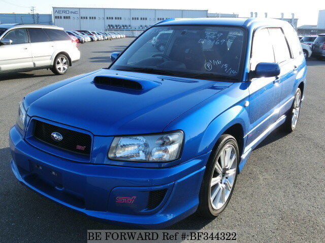 used 2004 subaru forester sti version turbo ta sg9 for sale bf344322 be forward. Black Bedroom Furniture Sets. Home Design Ideas