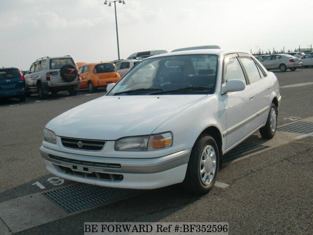 Used 1996 Toyota Corolla Sedan Se Saloon Kd Ce110 For Sale Bf352596 Be Forward