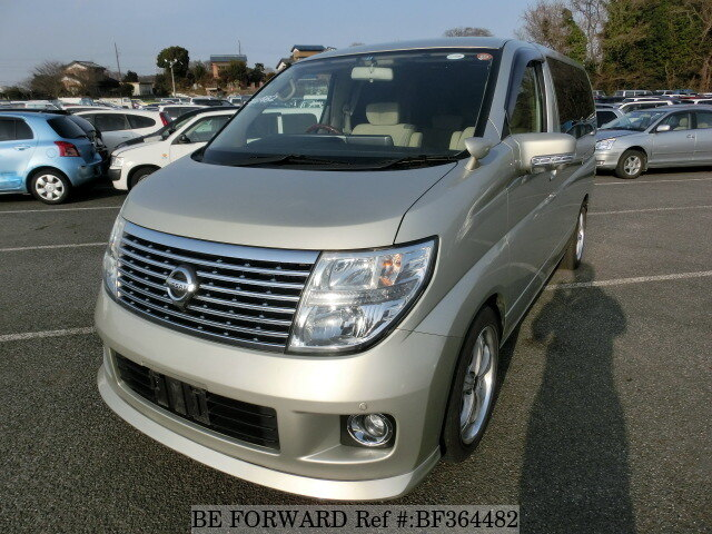 Used 2008 NISSAN ELGRAND 250V/CBA-ME51 for Sale BF364482 - BE FORWARD