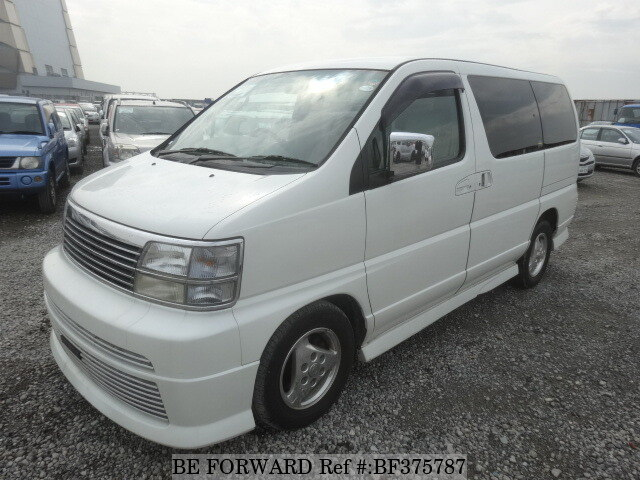 Used 2000 NISSAN ELGRAND RIDER/GF-ALE50 for Sale BF375787 - BE FORWARD
