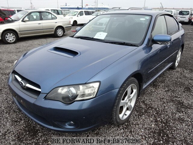 Used 2003 SUBARU LEGACY B4 GT TURBO/TA-BL5 for Sale BF376296 - BE
