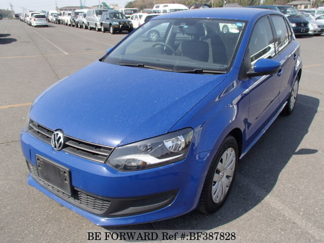 Used 2010 VOLKSWAGEN POLO TSI COMFORT LINE/DBA-6RCBZ for Sale