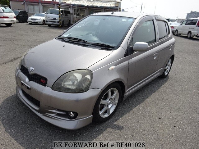 Used 2002 TOYOTA VITZ RSUANCP13 for Sale BF401026  BE FORWARD