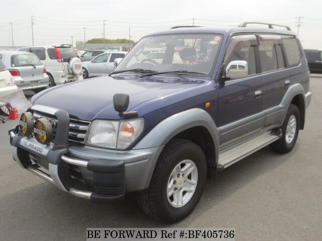 Used 1996 TOYOTA LAND CRUISER PRADO BF405736 For Sale