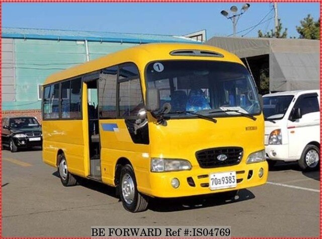 Used 2003 HYUNDAI COUNTY SHORT BODY for Sale BF464532 - BE