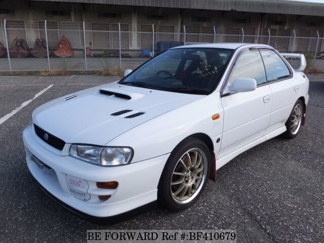used 1999 subaru impreza wrx sti wrx sti version v gf gc8 for sale bf410679 be forward. Black Bedroom Furniture Sets. Home Design Ideas