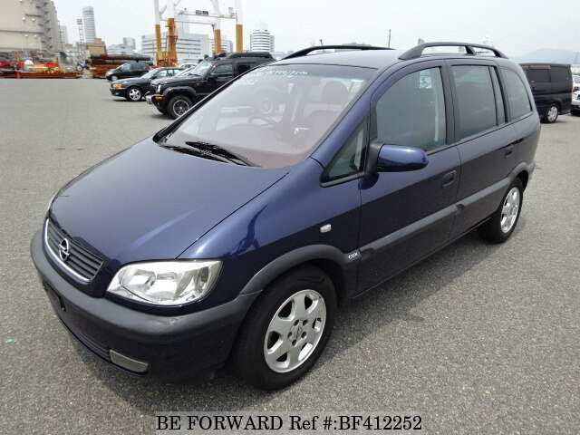 used 2000 opel zafira cdx gf xm180 for sale bf412252 be forward. Black Bedroom Furniture Sets. Home Design Ideas