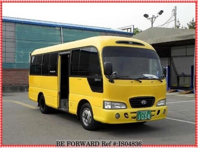 Used 1999 HYUNDAI COUNTY SHORT BODY for Sale BF459356 - BE