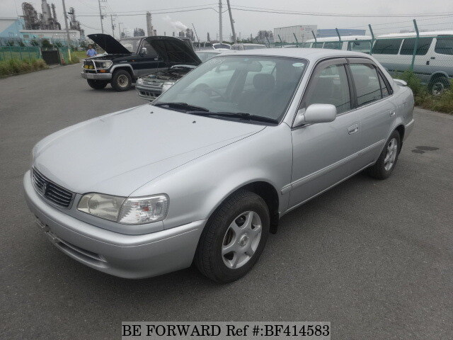 Used 1997 Toyota Corolla Sedan Se Saloon Kd Ce110 For Sale Bf414583 Be Forward