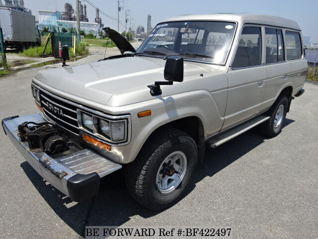 Used 1988 TOYOTA LAND CRUISER BF422497 For Sale