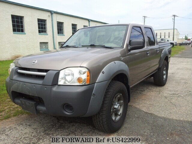 Used 2003 NISSAN FRONTIER CREW/- for Sale BF422999 - BE FORWARD