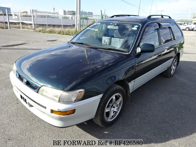 used 1995 toyota corolla touring wagon g touring e ae104g for sale bf426580 be forward. Black Bedroom Furniture Sets. Home Design Ideas