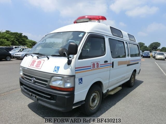 Used 2003 TOYOTA HIACE COMMUTER AMBULANCE/KG-LH186B for Sale