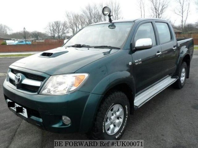 Used 2008 Toyota Hilux Hl3 D 4d 4x4 Double Cab For Sale Uk00071 Be Forward