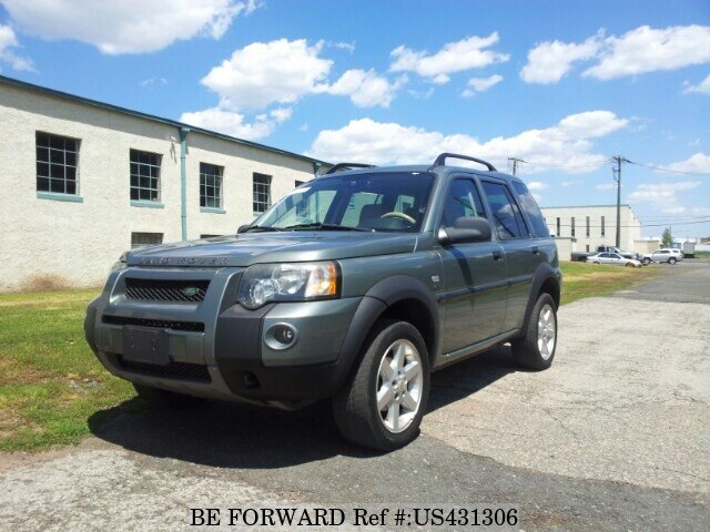 Used 2004 LAND ROVER FREELANDER HSE/GH-LN25 for Sale BF431306 - BE