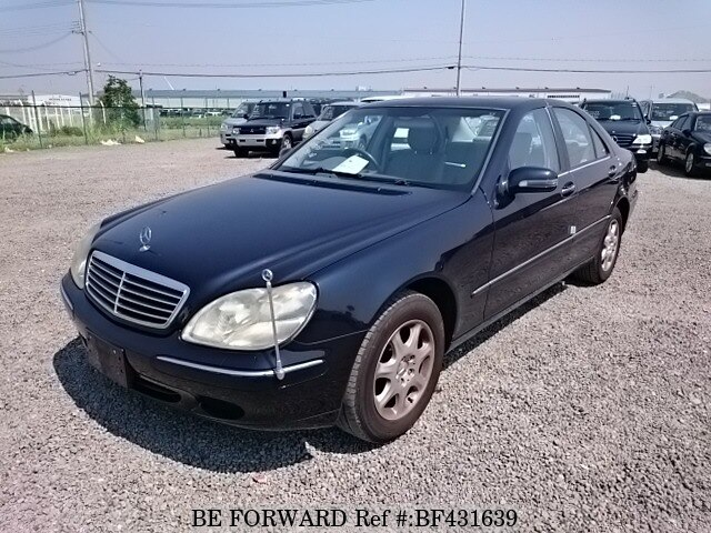 Used 2001 Mercedes Benz S Class S430 Gf 220070 For Sale Bf431639