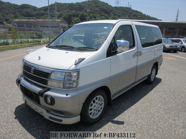 Used 1998 NISSAN ELGRAND V/KD-AVE50 for Sale BF433112 - BE FORWARD