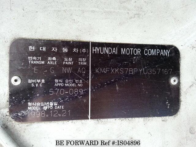 2000 hyundai porter hau2bld 3 usados en venta is04896 be for Hyundai motor myanmar co ltd