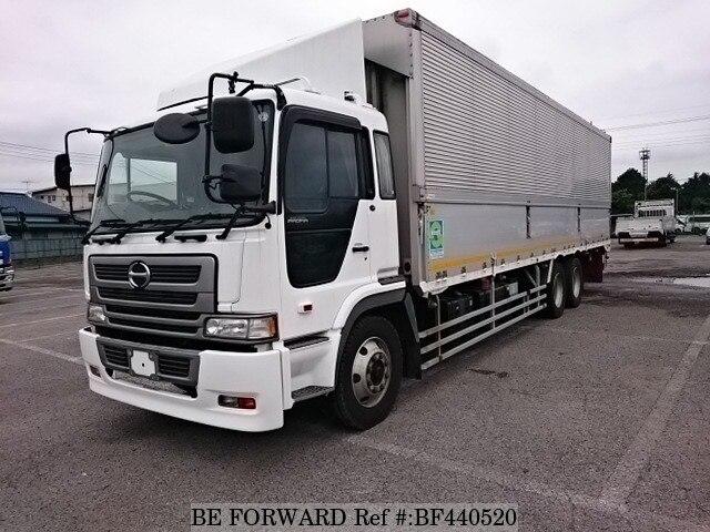 Used 2003 HINO PROFIA ALUMI W/KL-FR1KXHG for Sale BF440520 - BE FORWARD