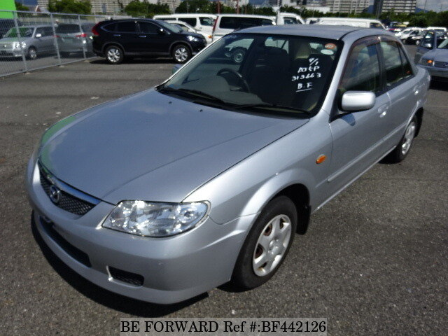 used 2002 mazda familia la bj5p for sale bf442126 be forward rh beforward jp
