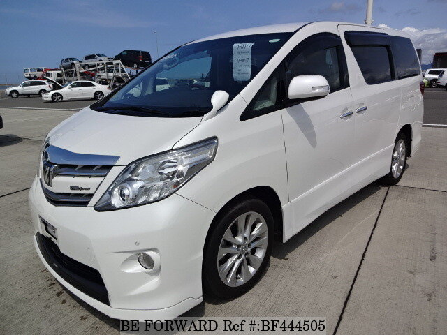 used 2009 toyota alphard 240s dba anh25w for sale bf444505 be forward rh beforward jp