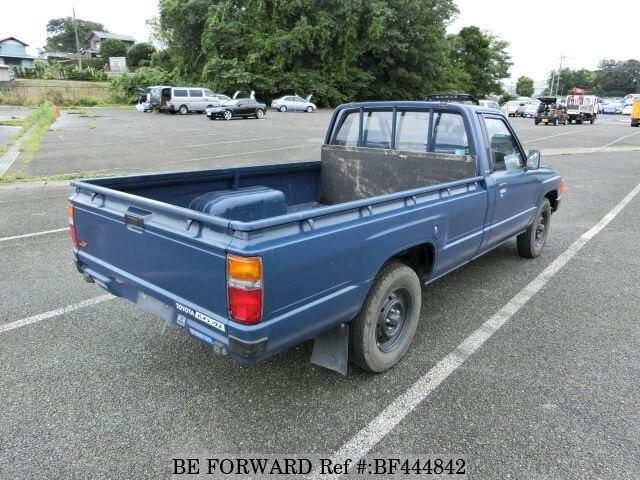 1985 toyota hilux truck l yn56 d 39 occasion en promotion bf444842 be forward. Black Bedroom Furniture Sets. Home Design Ideas