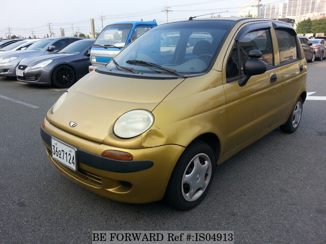 Used 1998 DAEWOO MATIZ/4A11B for Sale BF458790 - BE FORWARD